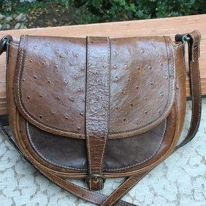 Ann Taylor Vintage Crossbody Bag Small